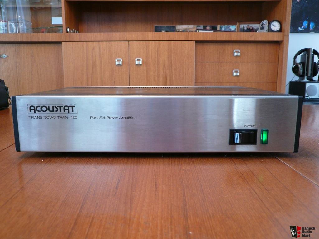 Acoustat TNT 120 amplifier