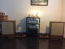 ARC sp8, VTL Tiny Triodes 25 with JBL (C36-02 system)speakers