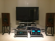 McIntosh C220, MC252 and Harbeth SHL5