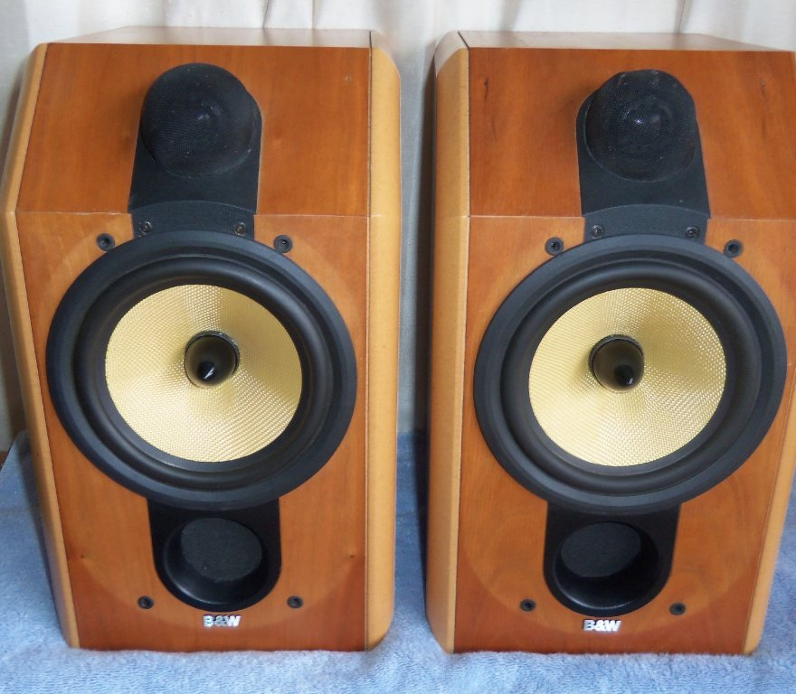 B&W CDM1 SE Special Edition Standmount Speakers