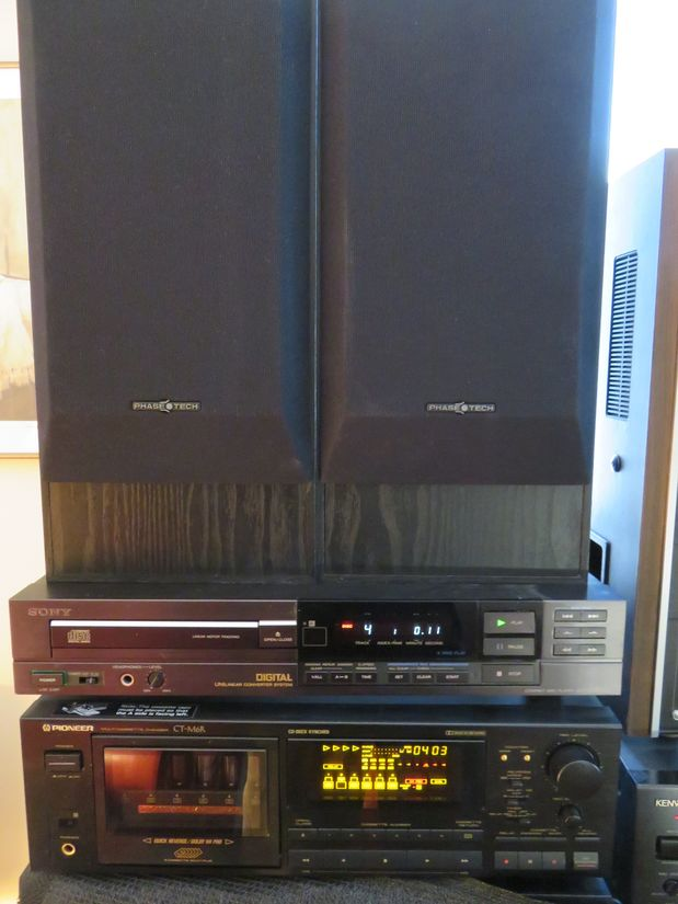 Phase Tech 325-ES, Sony CDP-520 ESll