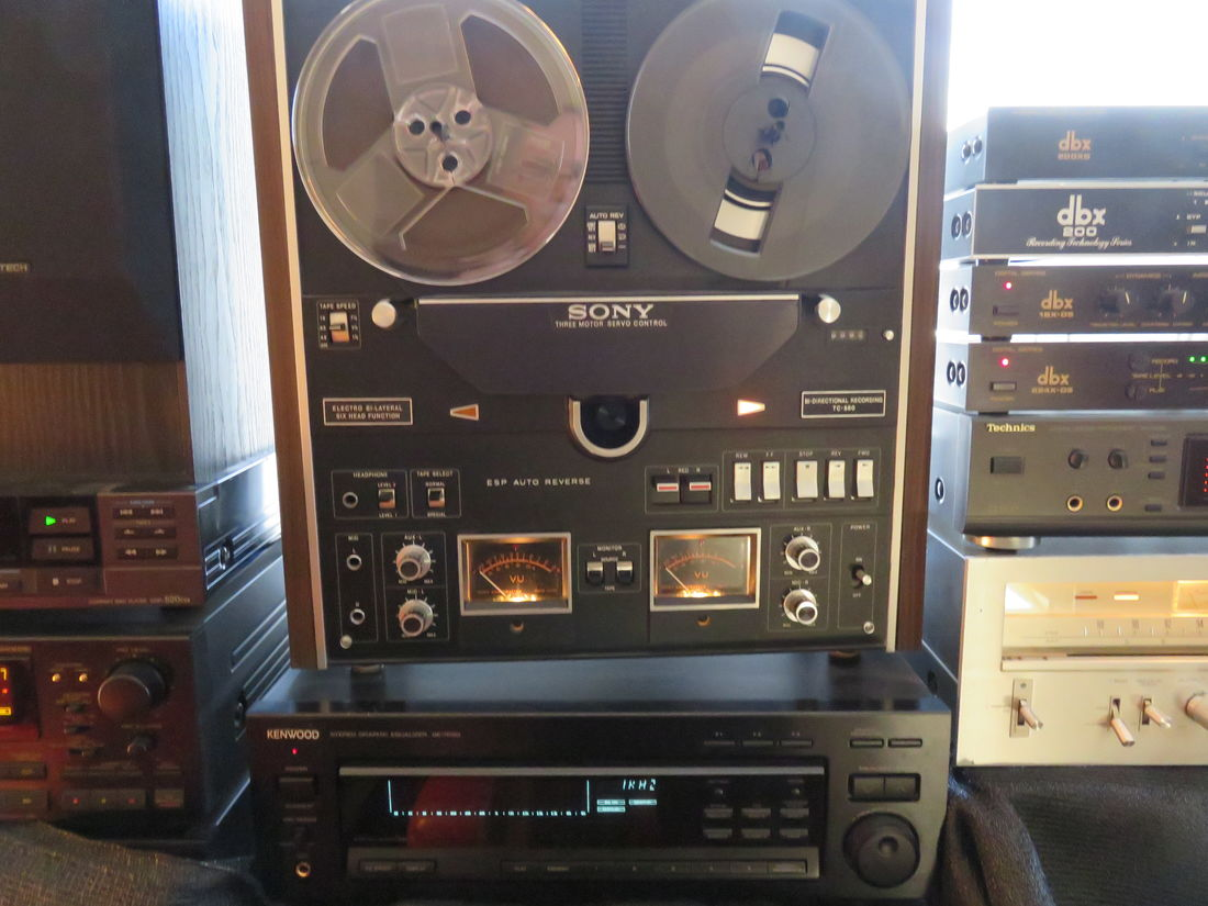 Sony TC580, Kenwood GE7020