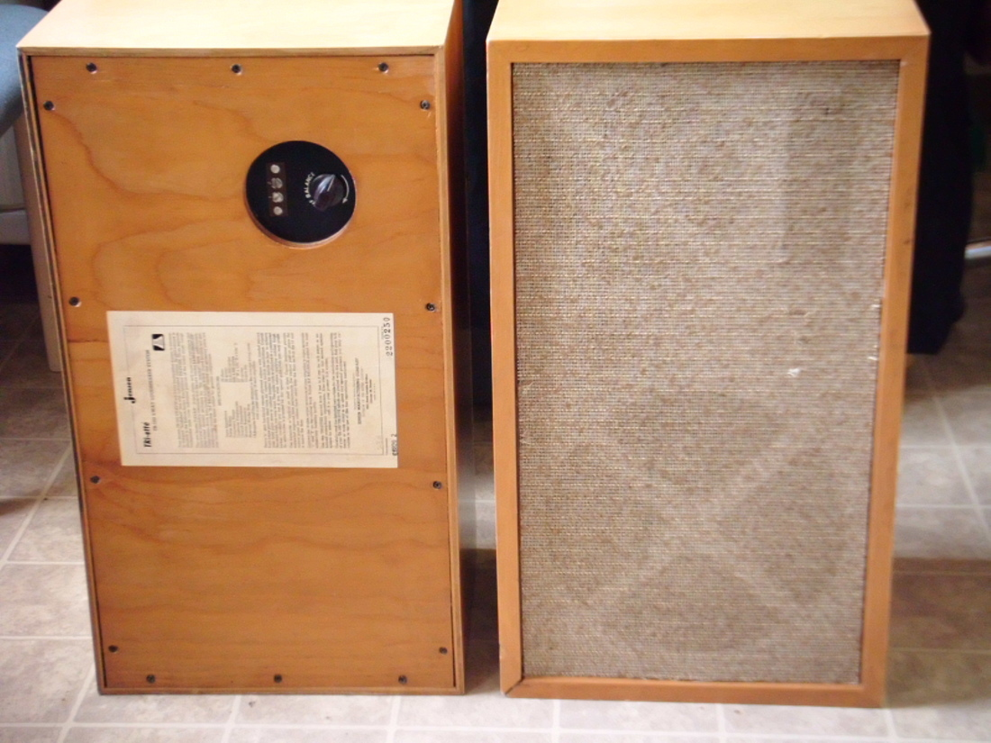 1962 Jensen Tri-Etta Load Speakers