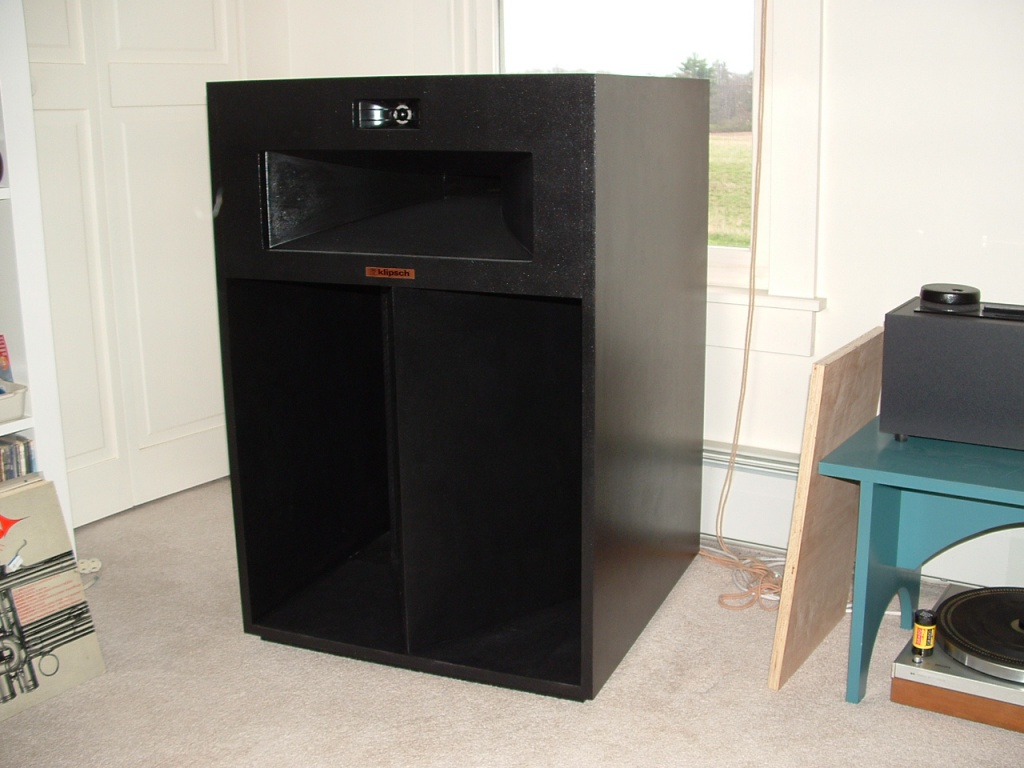 klipsch la scala parts to build a pair parts only for sale us audio mart. Black Bedroom Furniture Sets. Home Design Ideas