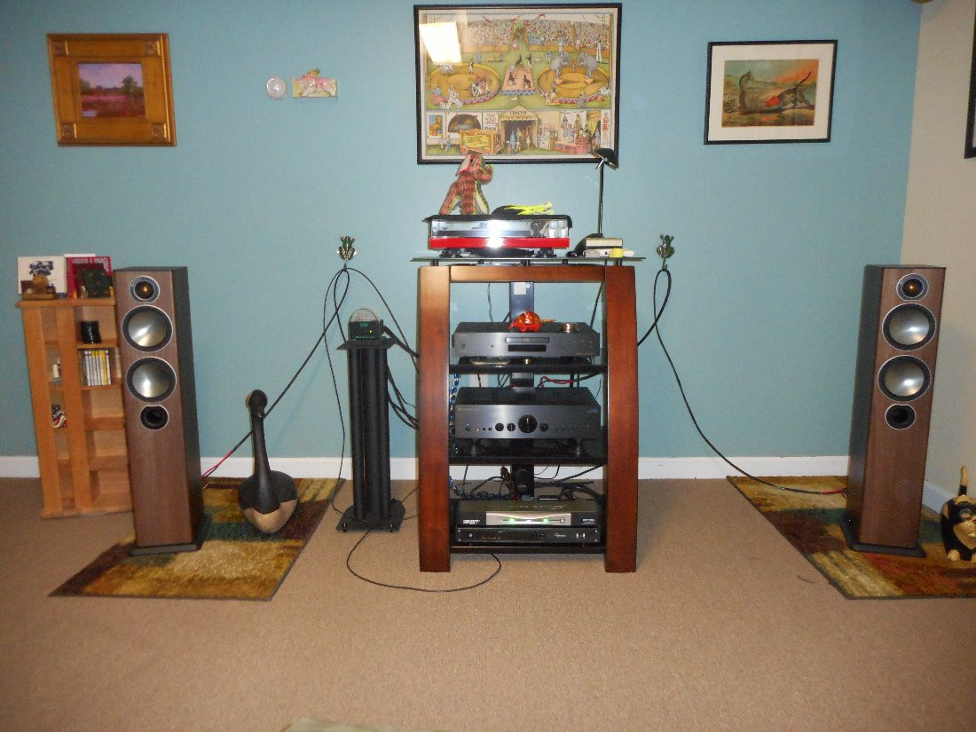 Monitor Audio Bronze 5 Speakers Absolutely Mint For Sale
