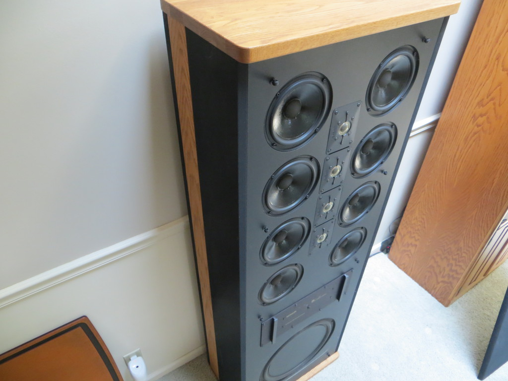 Vintage Polk Audio Sda Srs Tower Speakers For Sale Us