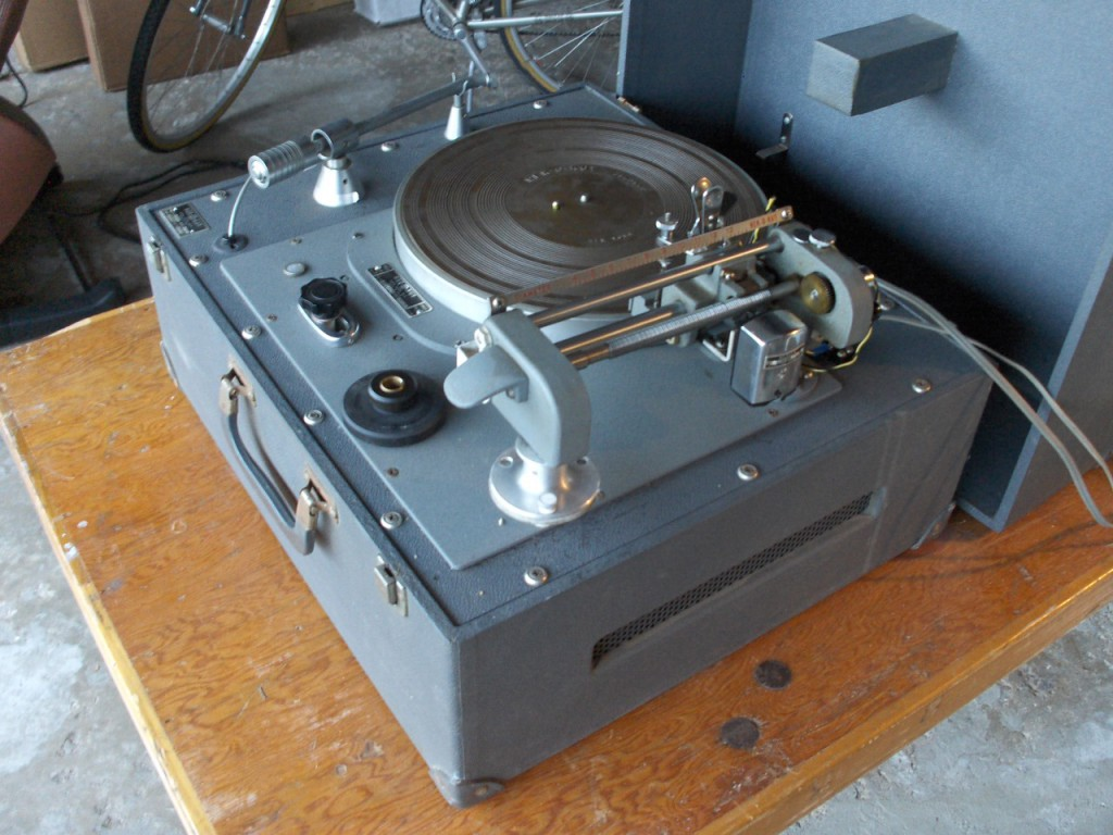 Old Record Vinyl Cutting Mastering Lathe Neumann Westrex