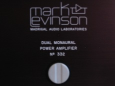 Mark Levinson 332 amplifier For Sale - US Audio Mart