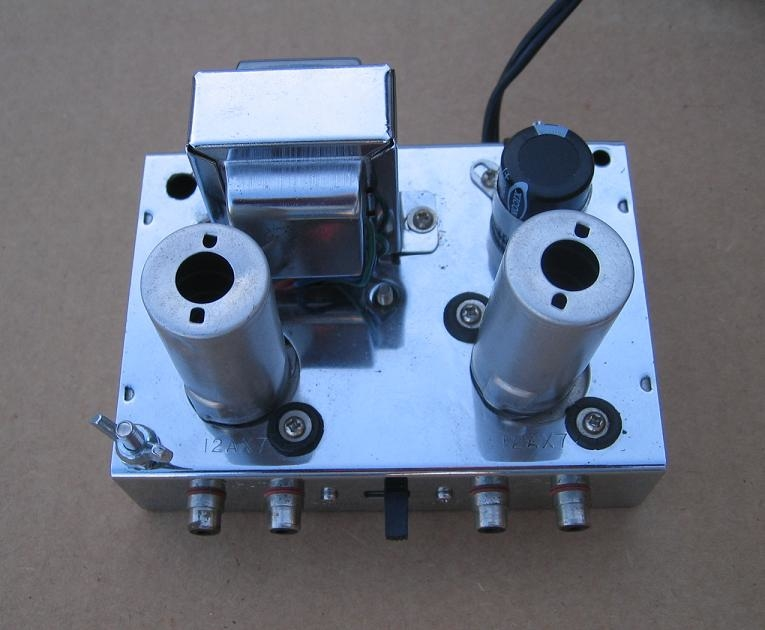 Custom Built Phono Preamp (based loosely on Dyna PAS)