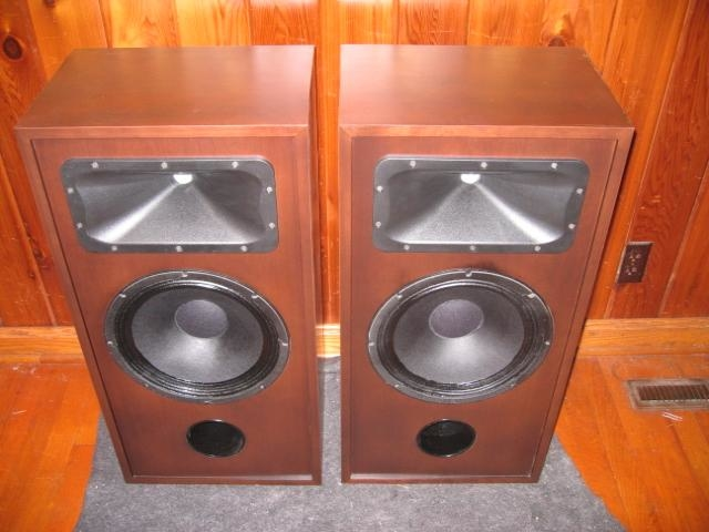 Custom Econowave speakers using custom-modded Eminence Delta Pro 12 woofers