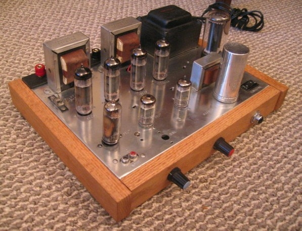 Magnavox 9302 Integrated 6BQ5 Amplifier Conversion (restored/custom preamp added)