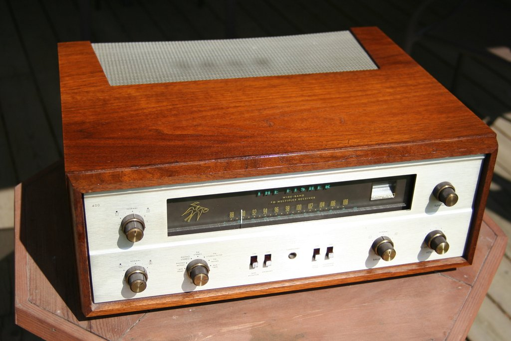 Fisher 400 Receiver Vacuum Tube Sale Pending For Sale