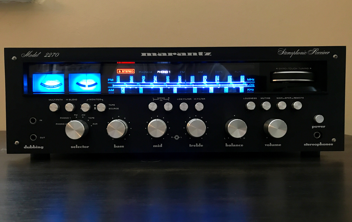 Marantz 2270 black face