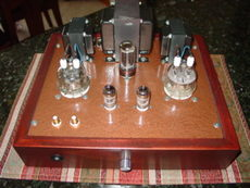 832 Stereo Tube Amplifier Push-Pull, 14 Watts hand built 12AT7 5Y3 832