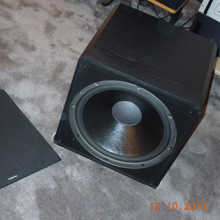 Digital Designs 15 Z Series Subwoofer Z315: Definitive Technology Powerfield 15 TL Subwoofer For Sale