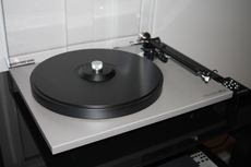 Rega RP40/Groovetracer Delrin Platter/ Groovetracer sub patter/Mitchell record clamp