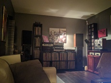 Sanctuary - Sansui Seven, Rotel RB-980BX, Rotel RC-970, Luxman T-450, Nakamichi CDP 4, Pioneer PL-530, JBL 4311, Sound Dynamics R-818, Teac RTR