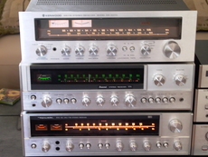AQUIRED FROM ORIGINAL OWNER REALISTIC SAT-90, SANSUI 771, KENWOOD KR-4070 ALL IN EXCELLENT WORKING CONDITION