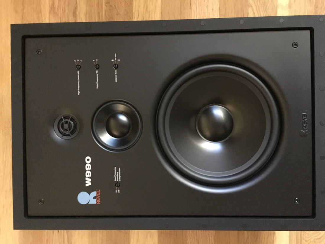 Revel W990 In Wall Speakers Pair For Sale Us Audio Mart