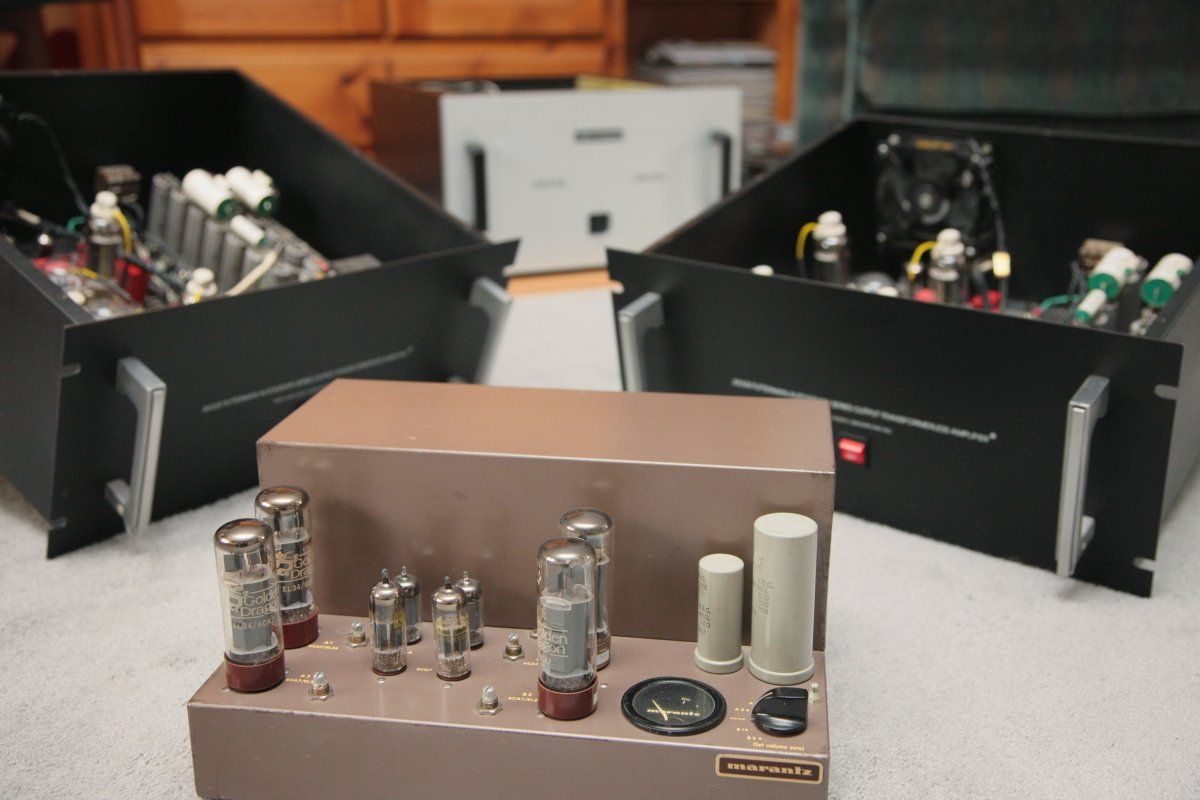 diverse grouping of amps, each with merits