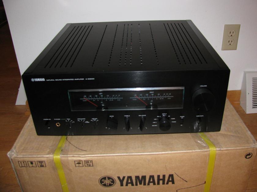 yamaha a s3000 integrated amp for sale us audio mart. Black Bedroom Furniture Sets. Home Design Ideas