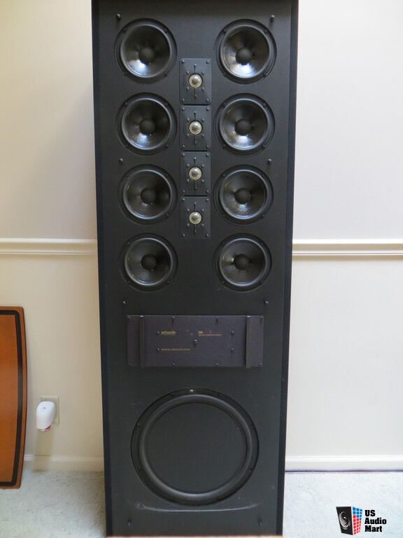 Vintage Polk Audio Sda Srs Tower Speakers Photo  1000753