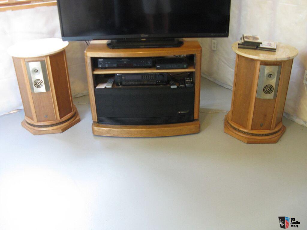 Vintage Empire 9000 Royal Grenadier Hi Fi Speakers Photo