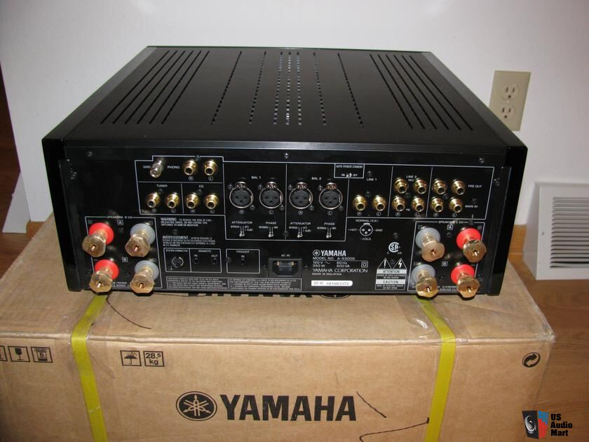 yamaha a s3000 integrated amp photo 1003482 canuck. Black Bedroom Furniture Sets. Home Design Ideas