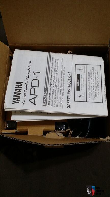 Yamaha Apd  Rf Demodulator