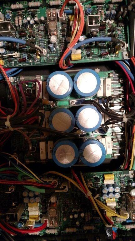 Parasound Hca 806 6ch Amp Clean Amp Powerful Photo
