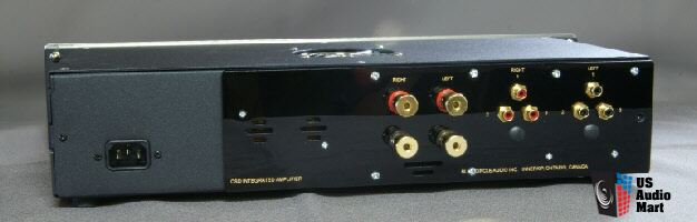 The Blue Circle CSD Class D solid-state stereo integrated amp