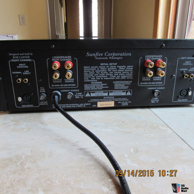 Sunfire Invariant Stereo Amp Photo #1075422