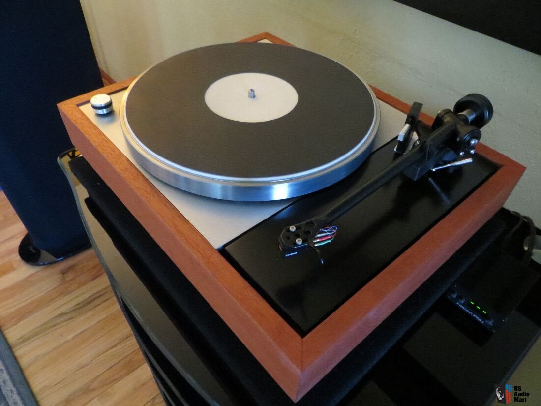 Thorens TD-150 - Professionally Restored, Incognito-Wired Rega Arm