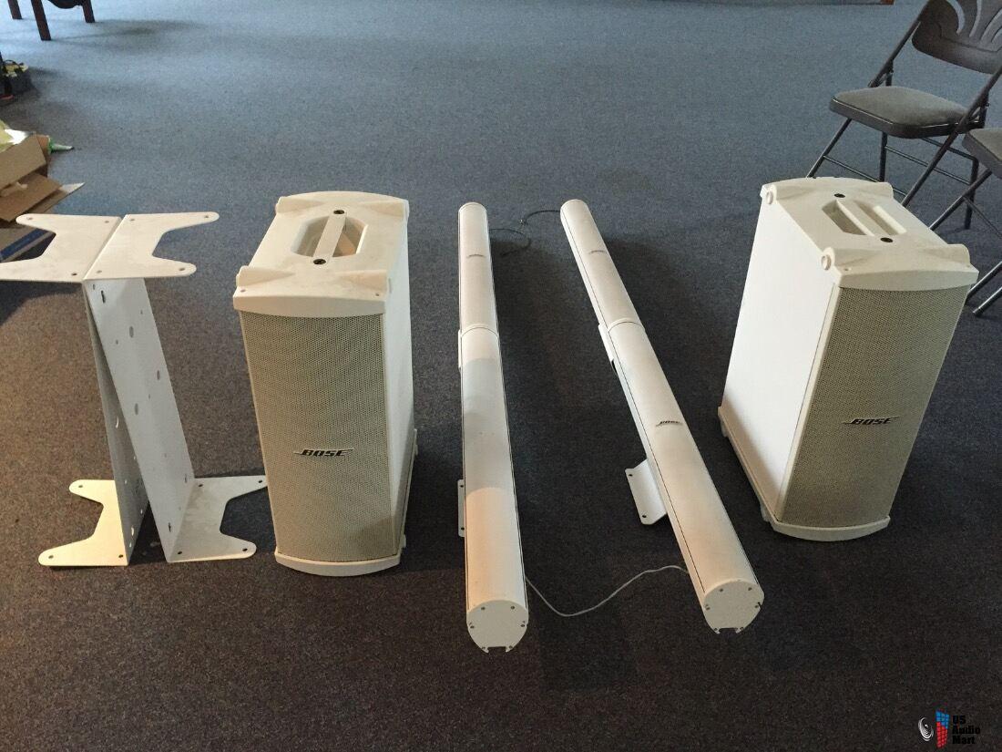 bose panaray speaker system used photo 1116538 canuck. Black Bedroom Furniture Sets. Home Design Ideas
