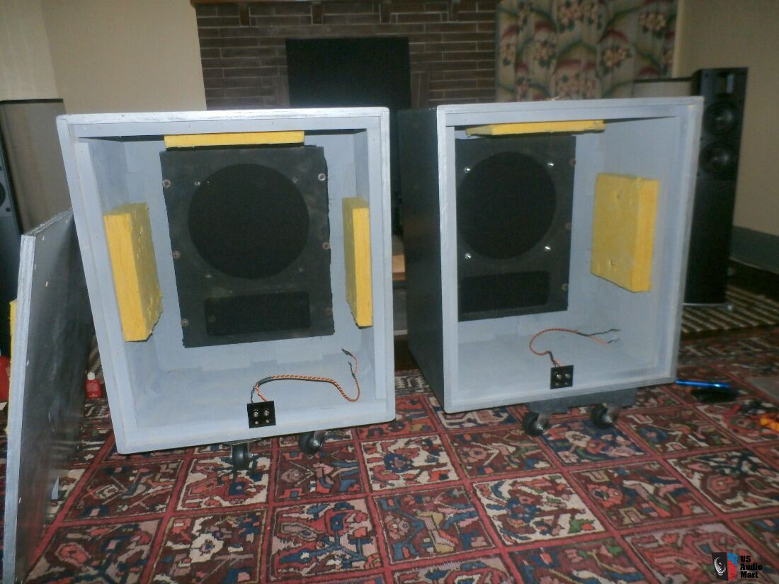 Altec 612 utility Silver cabinets for 604/515/803 Photo #1133090 ...