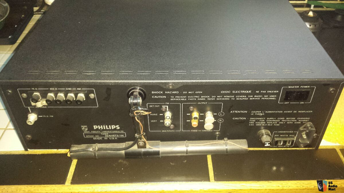 phillips tuner how to get to am