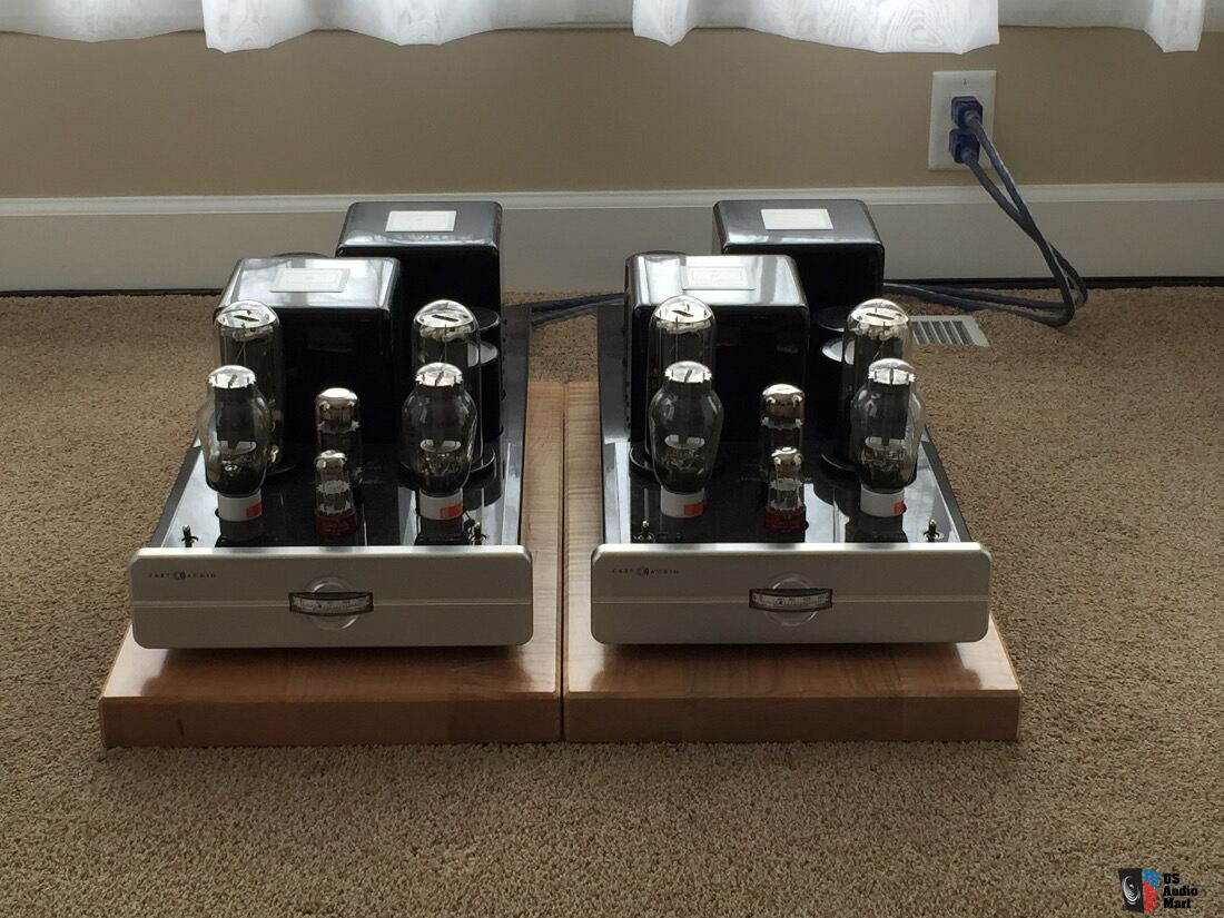 Cary Audio Cad 211 Fe Tube Monoblock Amps Save 13000 Will Trade Amplifiers For Pass