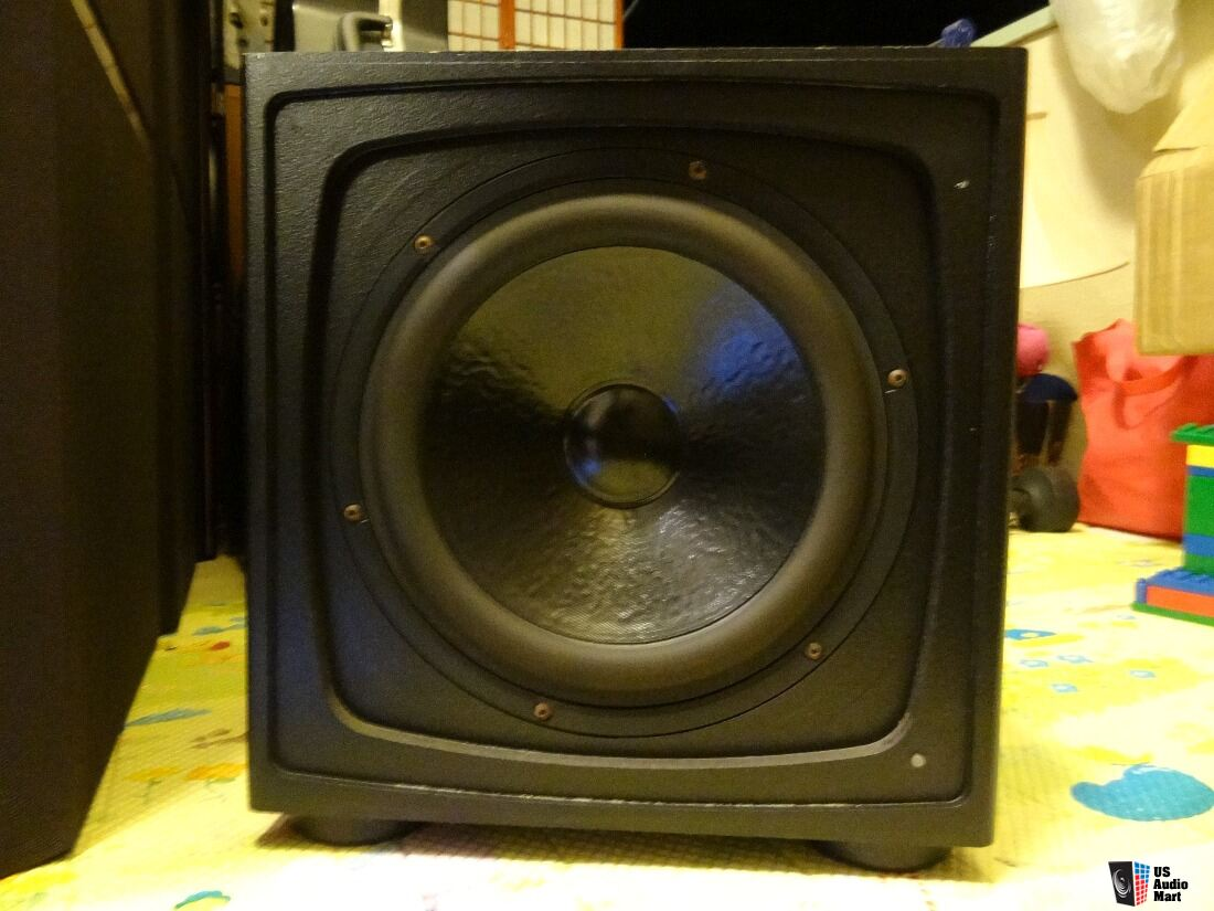 Rare Triad Thunder Powered Subwoofer Speaker Made In Usa