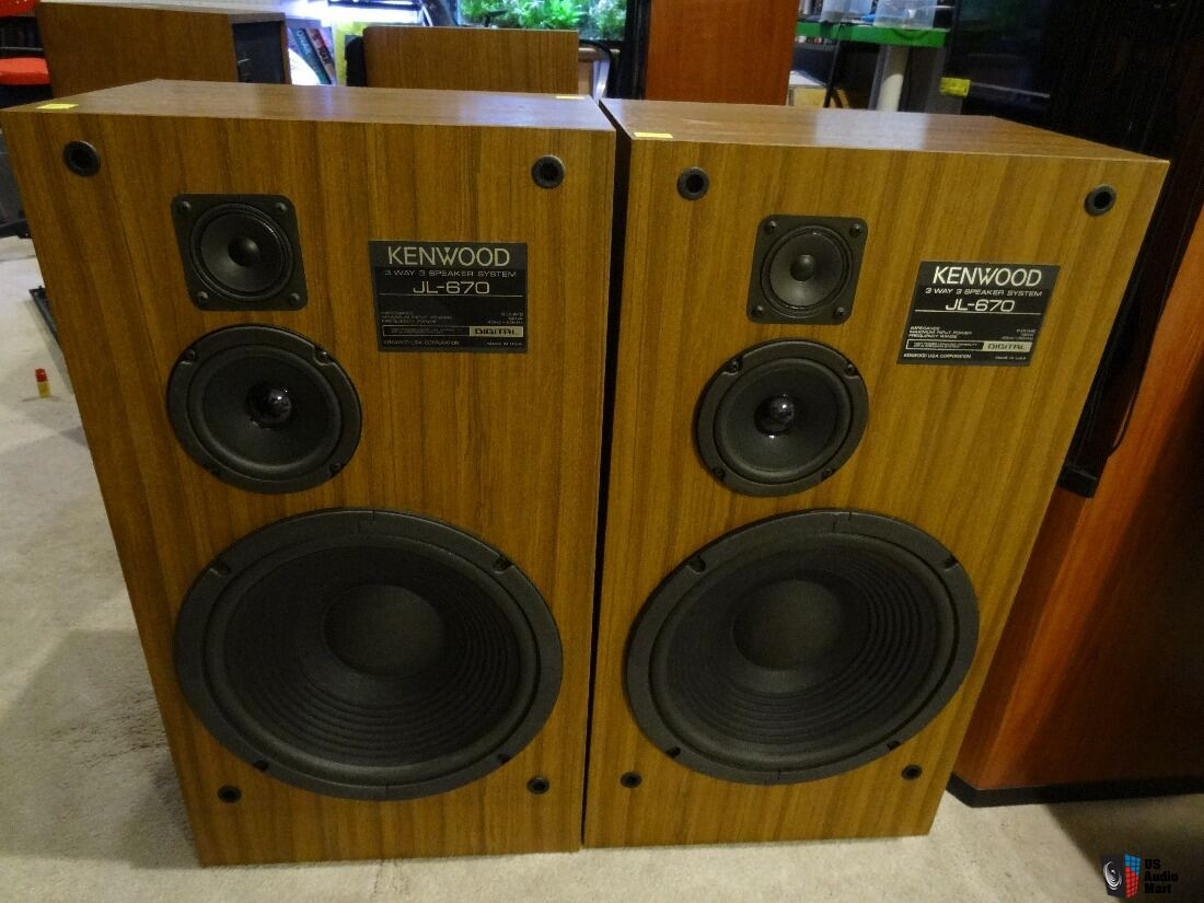 vintage kenwood floor speakers