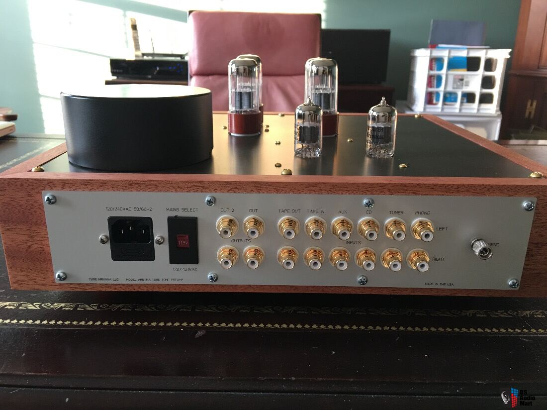 All Tube Preamp With Phono Stage Tape Loop And Tone Controls Photo