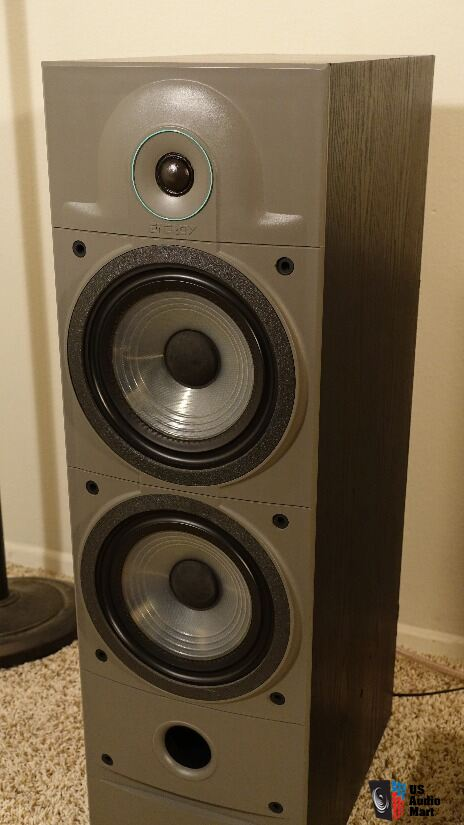 Energy 5.1e Floorstanding Tower Speakers - Black Ash Finish
