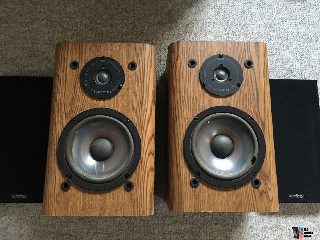 Infinity Rs2000 Bookshelf Speakers Rare Photo 1202945