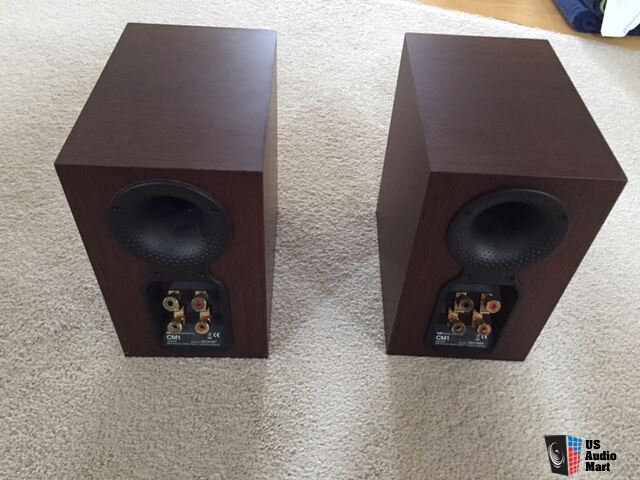 BW Bowers Wilkins CM1 Stand Mount Bookshelf Speakers Also Have Center Sub
