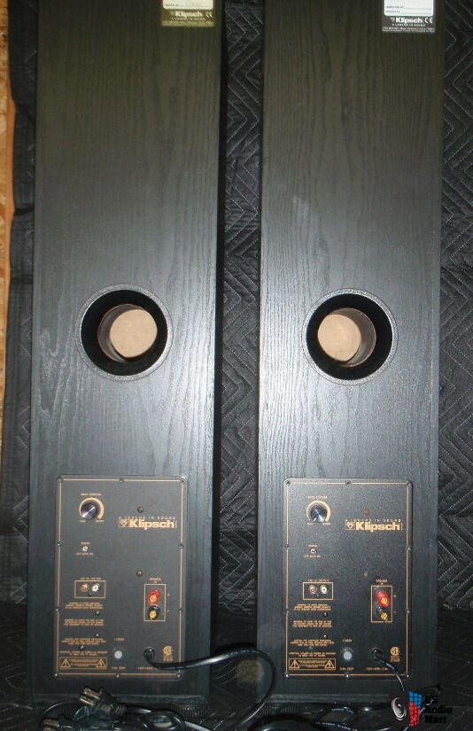 Klipsch Synergy Sp 1 Powered Tower Speakers Photo 1251584 Canuck