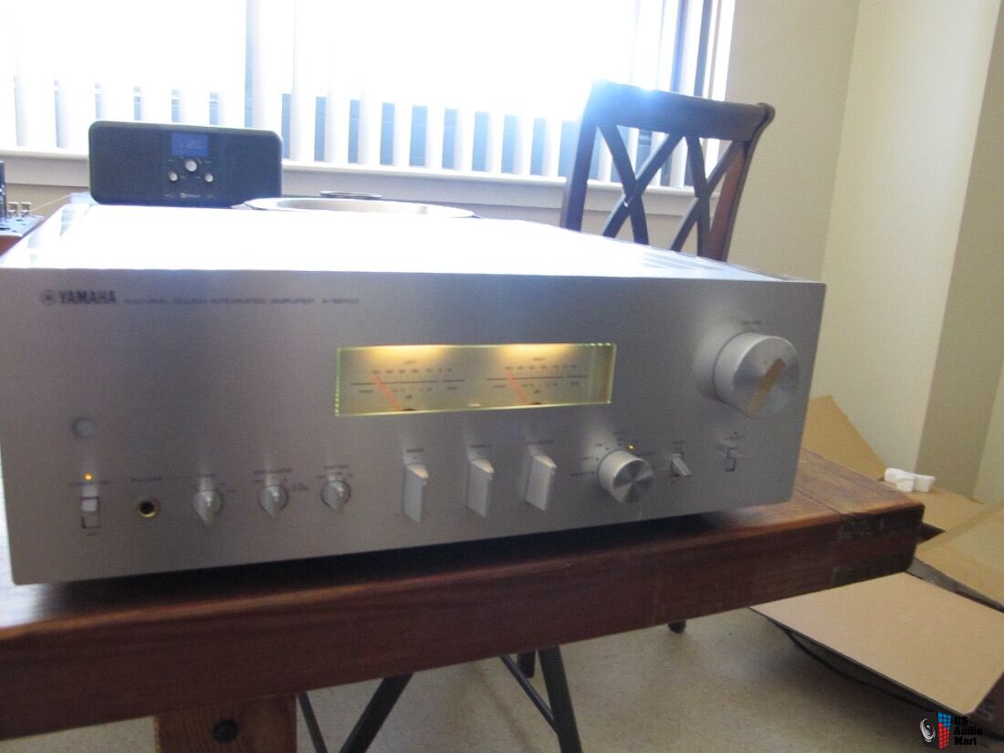 yamaha a s2100 solid state integrate amplifier for sale. Black Bedroom Furniture Sets. Home Design Ideas