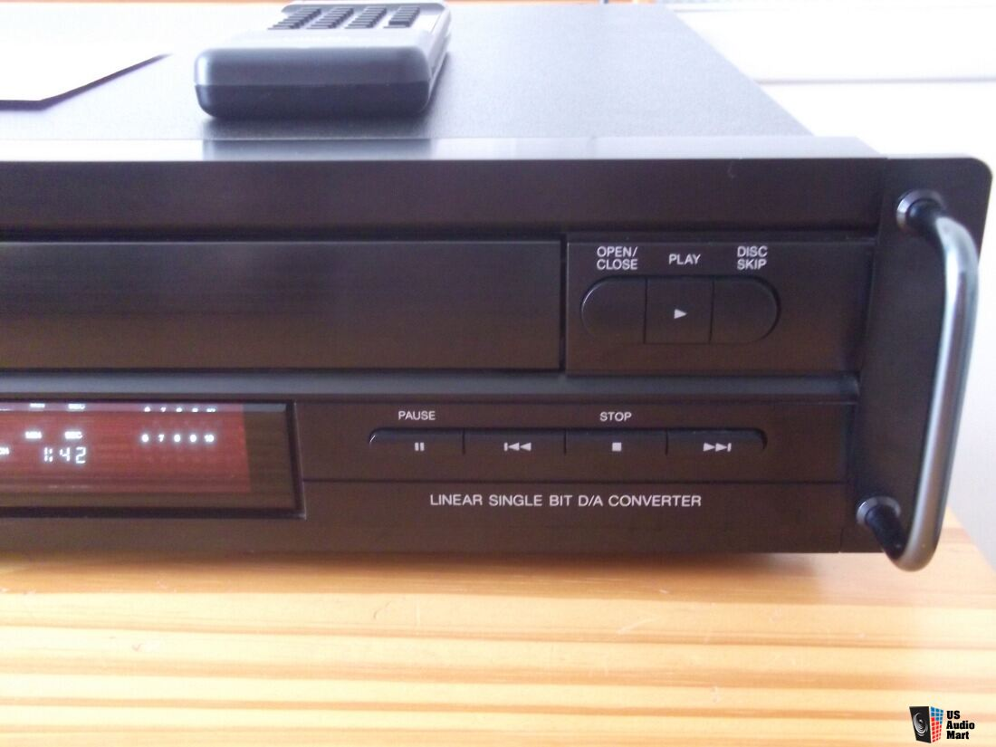 Carver Sd A 360 Multi Cd Player W Remote Manual On Cd Free