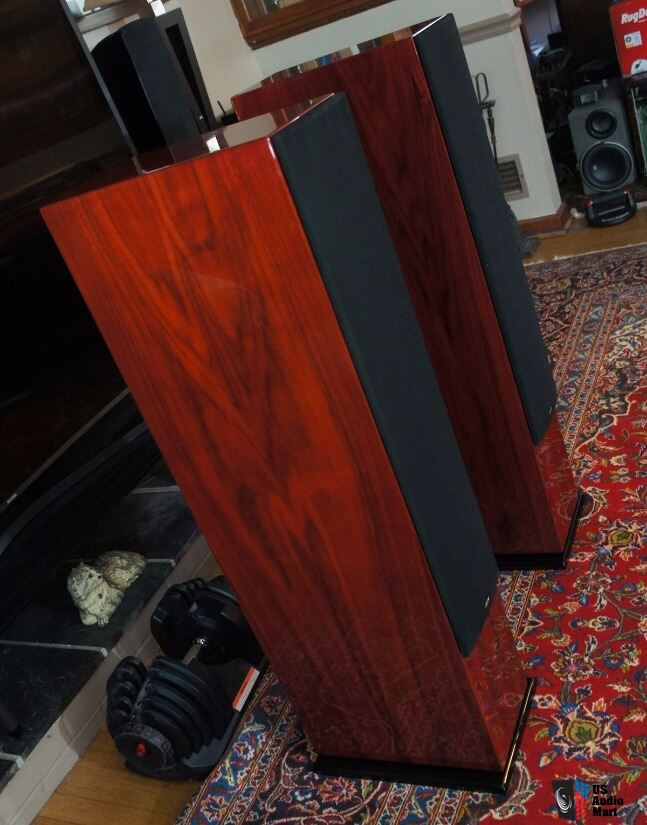 Energy veritas 6 3 floor standing speakers in rosenut for 100 floor 63