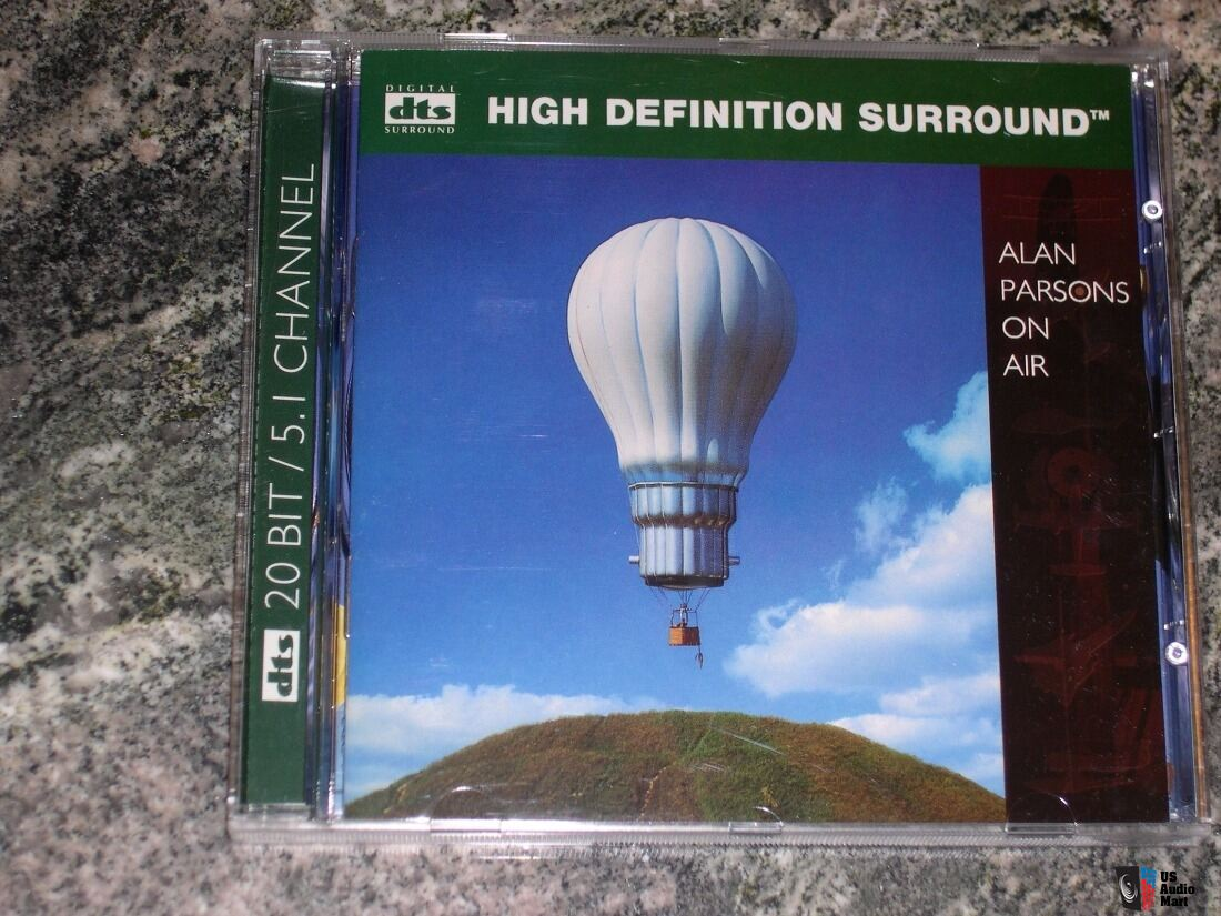 Alan Parsons -- On Air -- Rare DTS Encoded 5.1 Surround CD