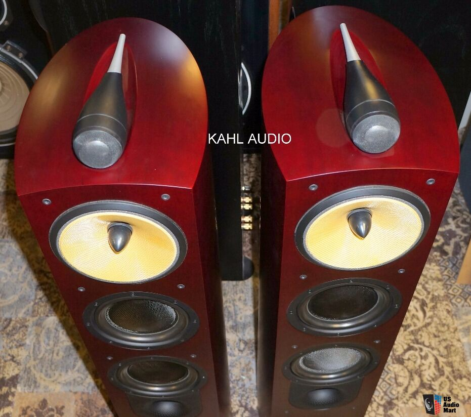 B&W Nautilus 804 floorstanding speakers. Lots of positive reviews. $3,500 MSRP