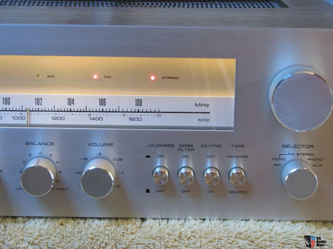 Sherwood S 7450 Stereo Receiver Photo 1339793 Us Audio Mart Noise Filter For System